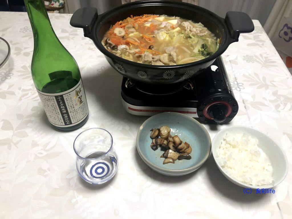 ふくやか純米酒 山廃仕込み 料理例
