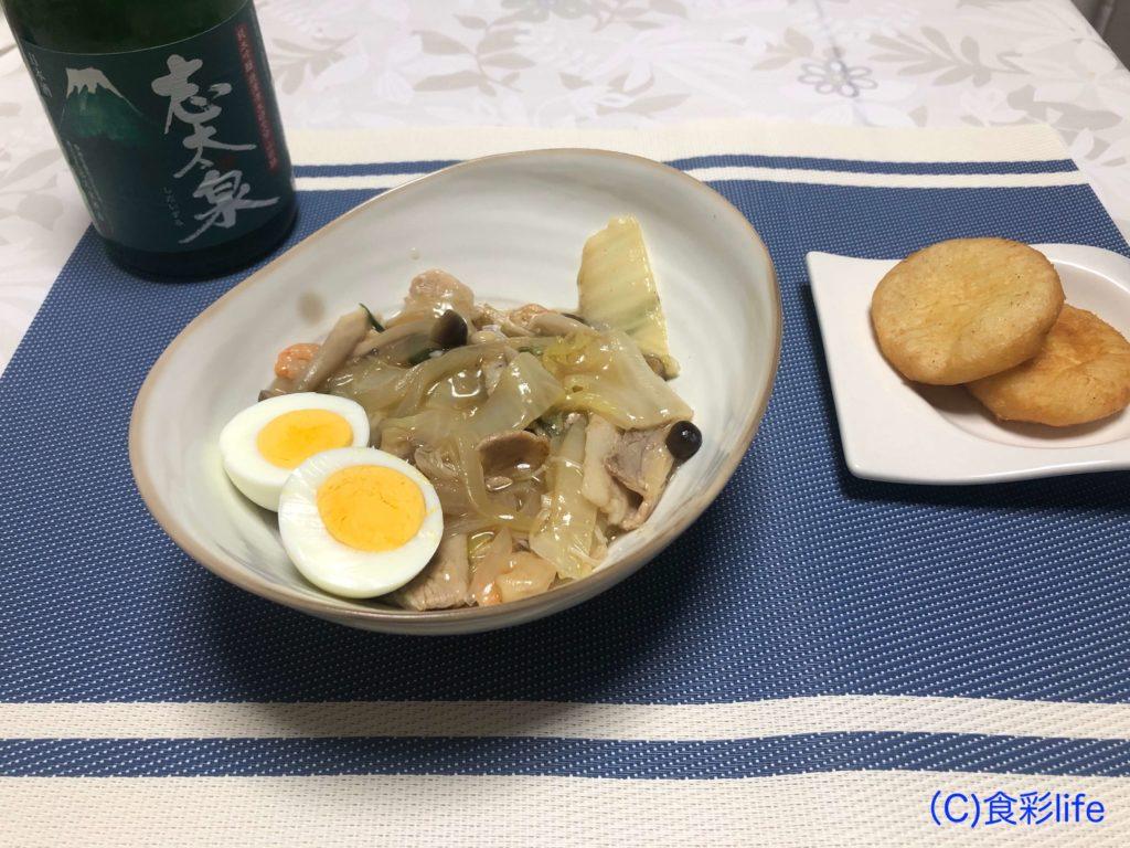 saketaku 志太泉純米吟醸(山田錦) 調理例①