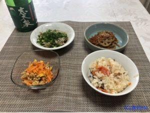 saketaku 志太泉純米吟醸(山田錦) 調理例③