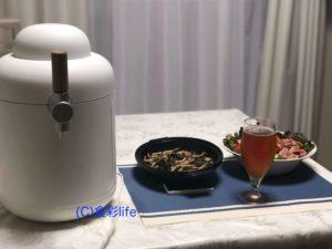 hometap(キリン)で注ぐグランドキリン IPAと料理①