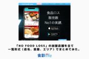 「No Food Loss」の加盟店舗を全て一覧形式(店名、業態、エリア)でまとめてみた。 アイキャッチ