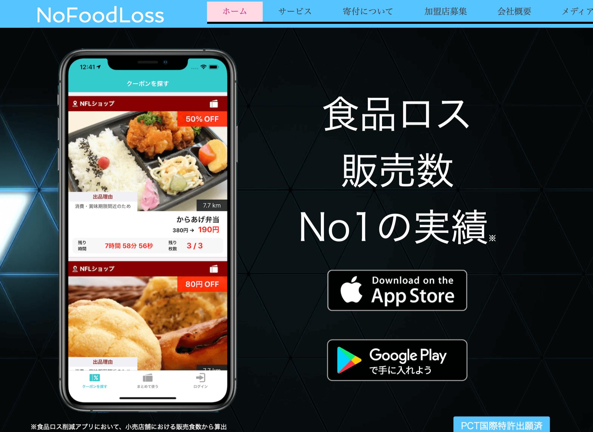 No Food Loss 公式①